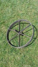 Metal Wheel Garden Antiques