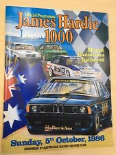 1986 James Hardie 1000 - Bathurst Official Programme - Rare Collectable Magazine