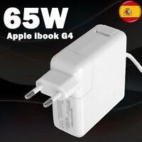 "Cargador Para Apple Mac Powerbook G4 65w 15"" 17"" Pulgadas Portátil"