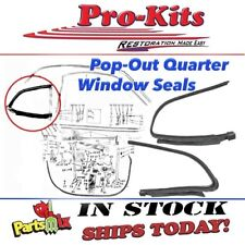 Fits 70 71 72 73 74 75 76 Duster Demon Dart Sport Pop Out Quarter Window Gaskets