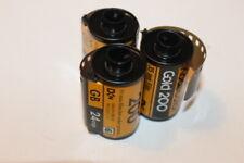 3LOT  KODAK Kodacolor Gold 200 Color Negative Film ISO 200, 35mm Size, 36 EX B#7