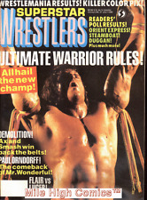 SUPERSTAR WRESTLERS (MAG) #37 Very Fine
