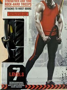 TKO Triceps Crunch 7 Levels - Door Attachment - New