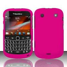 Rose Pink Rubberized Case Cover Blackberry Bold 9900