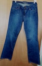 The Sweetheart Old Navy Ladies Flare Blue Denim Straight Jeans Size 4