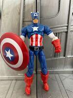 "Marvel Universe Hasbro Avengers CAPTAIN AMERICA 3.75"" Action Figure"