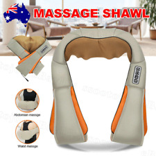 NEW Shiatsu Vibration Massage Infrared Heating Cushion Massager Neck Shoulder OZ