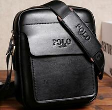 Designer Men Genuine leather Messenger crossbody Shoulder Business small Bag