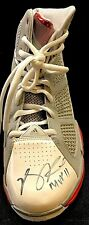 Derrick Rose Signed Basketball Shoe With The Inscriptions MVP 11 Chicago Bulls