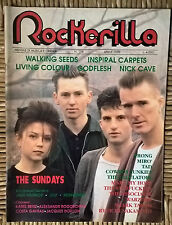 ROCKERILLA 116/1990 WALKING SEEDS, INSPIRAL CARPETS, LIVING COLOUR, THE SUNDAYS