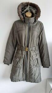 M&S Per Una Shower resistant parka Coat Jacket size Small