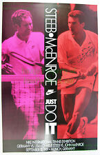 NITF 1989 Vintage NIKE Carl-Uwe Steeb John McEnroe International Tennis Exhibit