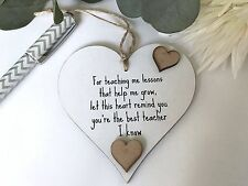 For The Teacher Heart Gifts Shabby Chic Christmas  Giftware Shabby Chic S74