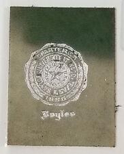 Antique Vintage Tobacco Cigarette Leather Silk Baylor University