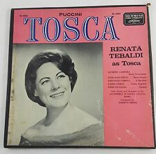 Tosca Puccini Renata Tebaldi 2LP Richmond/London RS 62002