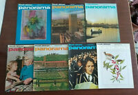 Vintage South African Panorama Magazines Lot of 7 Issues 1971 Illustrated
