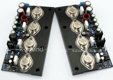 2pcs 8ohm HIFI 20W No Feedback DC Pure Class A Power Amplifier MJ15024 MJ15025