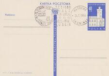 Poland postmark WLODAWA - Polish millennium tourism rally map