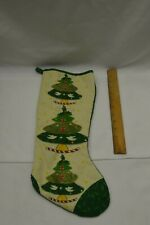 New Orleans Christmas Tree and Fleur De Lis Christmas Stocking
