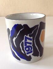 Royal Copenhagen Denmark 1977 Small Mug /Cup #3495 - Fajance - Lise Koefoed