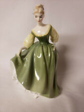 New ListingVintage 1962 Royal Doulton Figurine Hn 2193 Fair Lady Green Excellent Condition