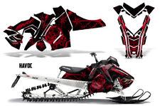 Polaris Pro RMK Rush Sled Decal Wrap Snowmobile Graphics Kit 2011-2014 HAVOC RED
