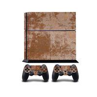 oxidado Metal PS4 PlayStation 4 Cobertor vinilo/PLAYSTATION 4 PS4 Pegatina de