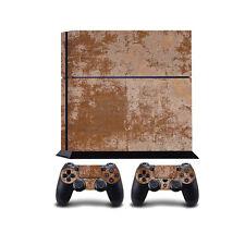 rouillé métal PS4 Playstation 4 autocollant vinyle/Playstation 4 PS4 Co