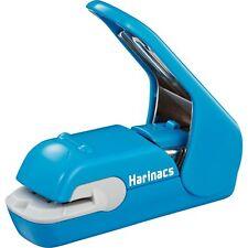Kokuyo Japan Harinacs Press Holeless Staple Free Stapler Sln Mph105b Blue