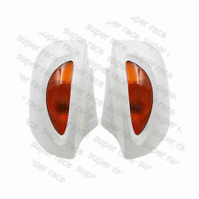 White Side Rear Mirrors Turn Signal For BMW R1100RT R1150RT R1100 RT R1150 RT