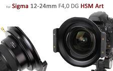 Haida metallo pieno serie 150er SUPPORTO FILTRO per SIGMA 12-24mm f4, 0 DG HSM ART