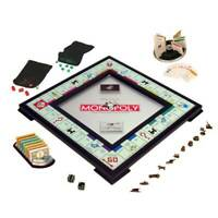 Monopoly Onyx Edition Game Trading Ages 8 to Adult Pre-Owned Hasbro