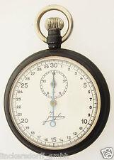 JUNGHANS STOPUHR / STOPPUHR / STOPWATCH - 30 SEK & 15 MIN - ALTER: um 1915