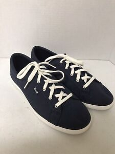 WOMENS KEDS, CANVAS, NAVY, SIZE 8.5M