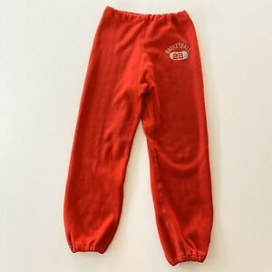 Vintage 70s Champion Reverse Weave Sweatpants Size M Basketball 22 One Color Tag