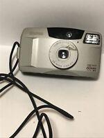 Vintage Canon Sure Shot 60 Zoom Camera 35mm Film Silver 38-60 mm Lens
