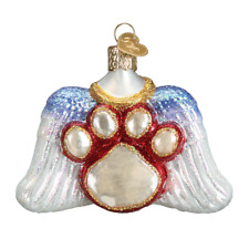 Old World Christmas Beloved Pet (12478)X Glass Ornament w/ Owc Box