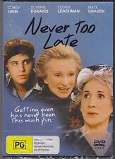 NEVER TOO LATE - Olympia Dukakis, Jean Lapointe, Jan Rubes - DVD