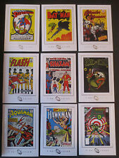 2007 DC LEGACY FIRST TITLE COVERS COMPLETE COMIC TRADING CARD CHASE SET