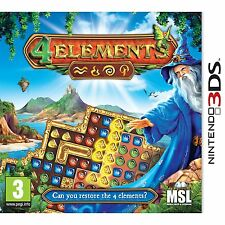 4 Elements (Nintendo 3DS) Nintendo 3DS and 3DS XL PAL Brand New