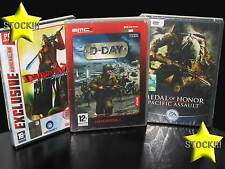 OFFERTA STOCK 3 GIOCHI NUOVI PC D-DAY DEVIL MAY CRY 3 MEDAL OF HONOR IT STOCK174