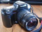 Minolta Maxxum 700si 35mm SLR Film Camera with ZOOM 28-80mm 1:3.5-5.6 MACRO Lens