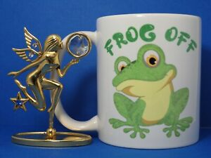 Frog Off  Funny novelty coffee mug rude naughty