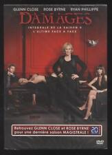 NEUF DVD DAMAGES INTEGRALE SAISON 5 SERIE TV GLENN CLOSE SOUS BLISTER JUDICIAIRE