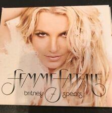 Femme Fatale Digipak Britney Spears CD Mar-2011 Jive USA Sony R&B Soul 12 Tracks
