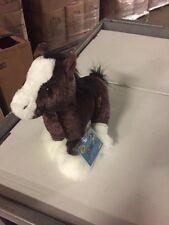 Webkinz Clydesdale Horse HM139 Plush Animal With Secret Code For Website Ganz