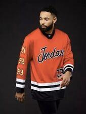 $200 Nike Mens Sz M Jordan Championship Hockey Jersey BQ5156-657 Travis Scott