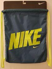 Clearance!!! New Nike Green and Yellow Sack Bag. Original rrp £13.99.