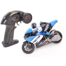 Mini RC Bike - 2.4GHz - Blue - GX806B