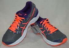 ASICS Women's GEL Excite 4 Shark/Flash Coral/Purple Running Shoes-Size 7 NWOB